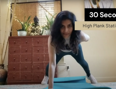 Home Workouts with Nishi Bhonsle